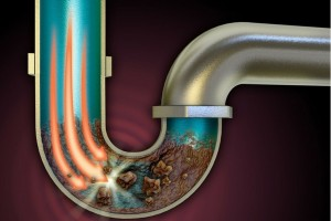 Clogged Pipe
