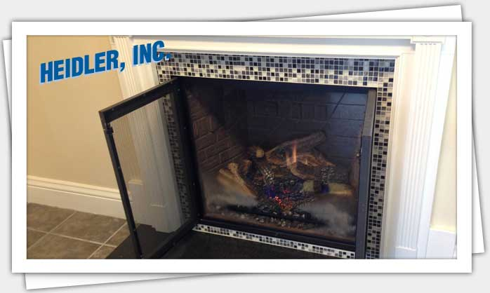 Gas Log Fireplace Services in Annapolis
